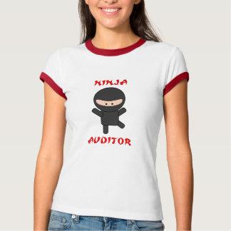 T-shirt commissaire aux comptes de ninja