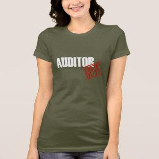 T-shirt Commissaire aux comptes qui n'est pas de service