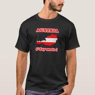 T-shirt Compagnon de l'Autriche - du G'day !
