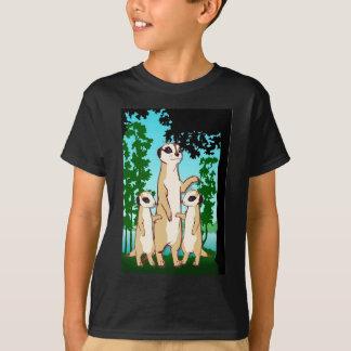T-shirt Comparez mon Meerkats jumeau