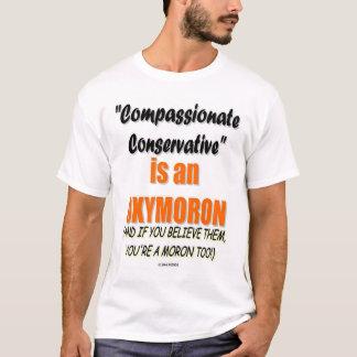 T-shirt Compatissant Conservateur-vous pouvez être un