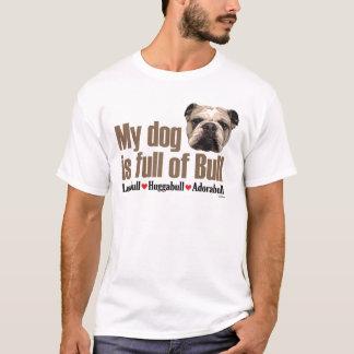 T-shirt Complètement de Taureau - bouledogue anglais