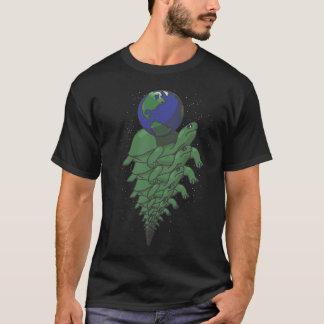 T-shirt Complètement vers le bas