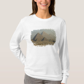 T-shirt Complexe de pyramides de l'Egypte, Gizeh, Gizeh,