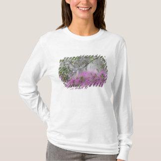 T-shirt Composé de Digitals des azalées et de l'arbre de