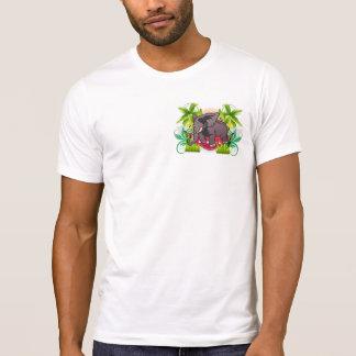 T-shirt Compost d'éléphant pour des jardins