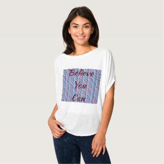 T-shirt Compote de pommes croisée de Criss - croyez que