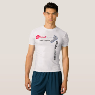 T-shirt compression officiel Barefoot Friends
