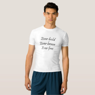 T-shirt Compression toujours audacieuse T