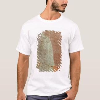 T-shirt Comprimé avec l'histoire du Roi Sargon II