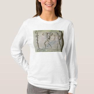 T-shirt Comprimé dépeignant Hercule