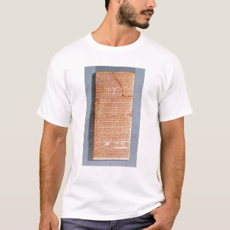 T-shirt Comprimé rapportant les sacrifices de rituel