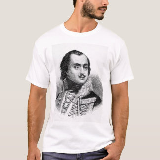 T-shirt Compte Casimir Pulaski.  Image de Copy_War