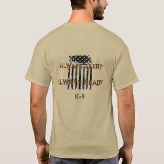T-shirt Compte sur la chemise K9