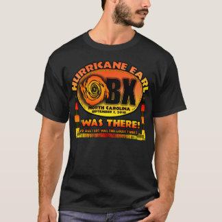T-shirt Comte d'ouragan, banques externes, la Caroline du