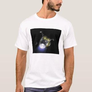 T-shirt Concept d'un équipage soufflant