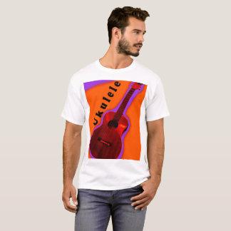T-shirt Conception 1 de chemise d'ukulélé : Montrez votre