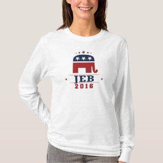 T-shirt Conception 2016 d'éléphant de GOP de Jeb