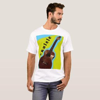 T-shirt Conception 2 de chemise d'ukulélé : Montrez votre