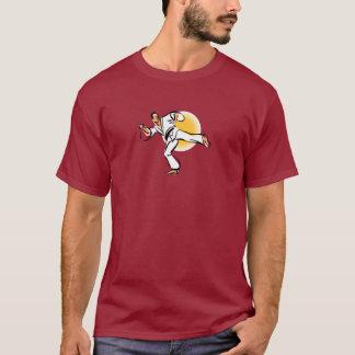 T-shirt Conception 2 d'état d'esprit de ceinture noire