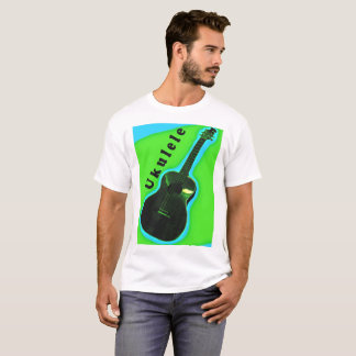 T-shirt Conception 3 de chemise d'ukulélé : Montrez votre