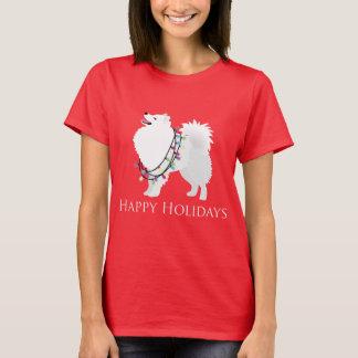 T-shirt Conception américaine de chien esquimau bonnes