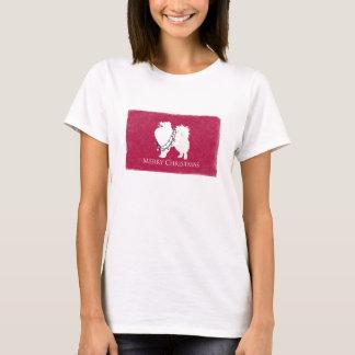 T-shirt Conception américaine de Joyeux Noël de chien