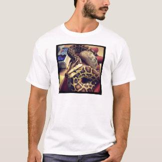 T-shirt Conception birmanne de photo de python de bébé de