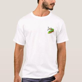 T-shirt Conception blanche de l'affiche voulue par Muskie