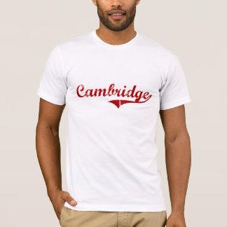 T-shirt Conception classique de Cambridge le Massachusetts