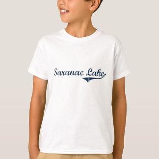 T-shirt Conception classique de New York de lac Saranac