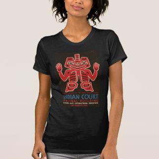 T-shirt Conception couvrante des Indiens de Haida