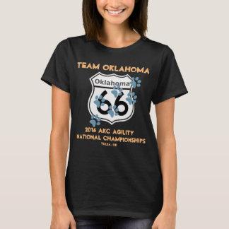T-shirt Conception d'agilité de l'Oklahoma d'équipe pour