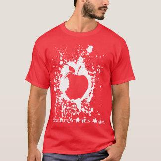 T-shirt Conception de base de pomme d'ADAM et d'ENCRE