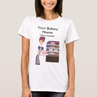 T-shirt Conception de boulangerie/magasin de pâtisserie 4