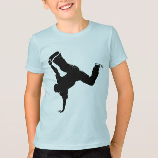 T-shirt conception de breakdancer