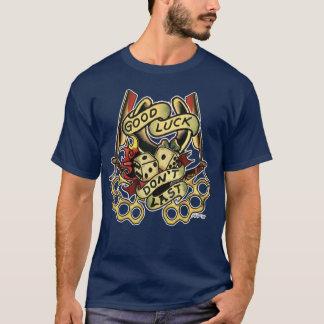 T-shirt Conception de chance