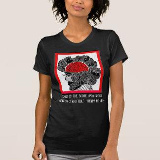 T-shirt Conception de chaos et de réalité