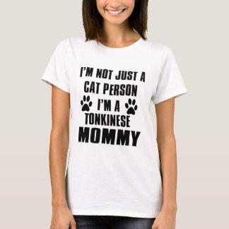 T-shirt Conception de chat de Tonkinese