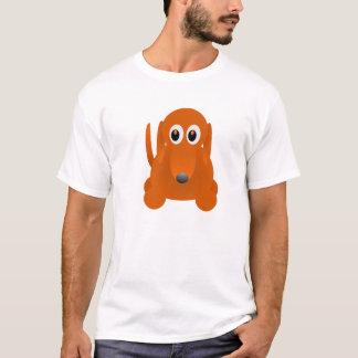 T-shirt Conception de chemise de chien de saucisse