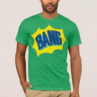 T-shirt Conception de chemise de coup