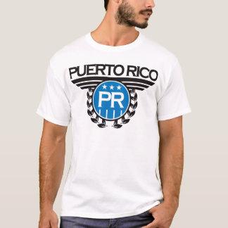 T-shirt Conception de crête de Porto Rico