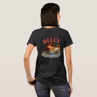 T-shirt Conception de dos du Pre-Raphaelite de l'enfer
