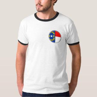 T-shirt Conception de drapeau de la CAROLINE DU NORD -
