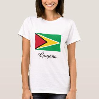 T-shirt Conception de drapeau de la Guyane