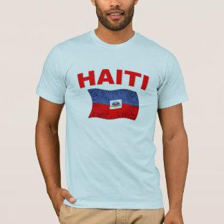 T-shirt Conception de drapeau de tremblement de terre du