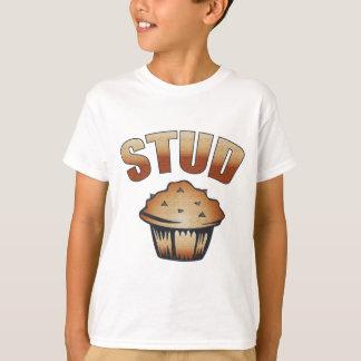 T-shirt Conception de lavage de petit pain de goujon