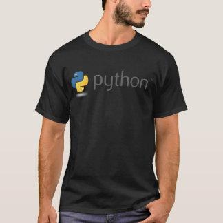 T-shirt Conception de logo de python