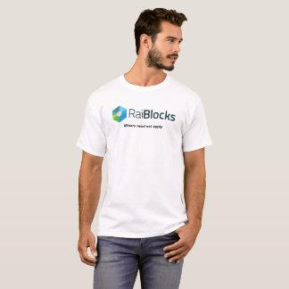 T-shirt Conception de logo de Raiblocks XRB - les mineurs