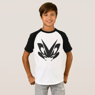 T-shirt conception de mite - les enfants court-circuitent